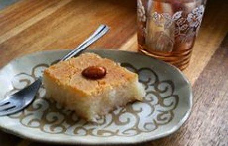 שמליקו עוגת סולת משגעת