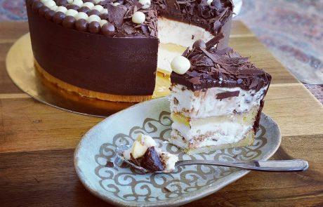עוגת שכבות וניל