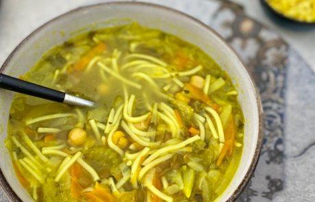 מרק ירקות של אמא שלי