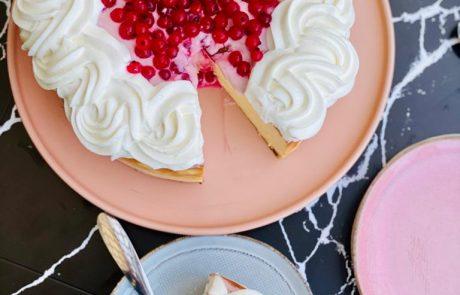עוגת גבינה ללא סוכר