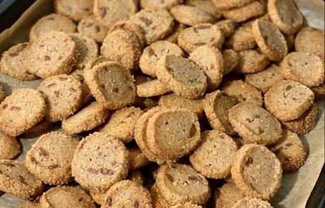 עוגיות פקאן ושוקולד חלב