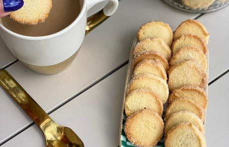עוגיות חמאה ושקדים כמו בקונדיטוריה