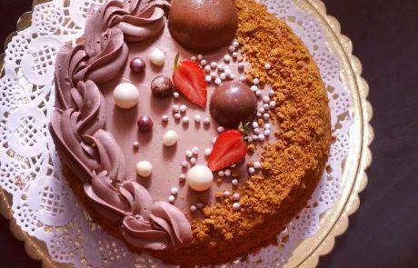 עוגת שוקולד רוזמרי