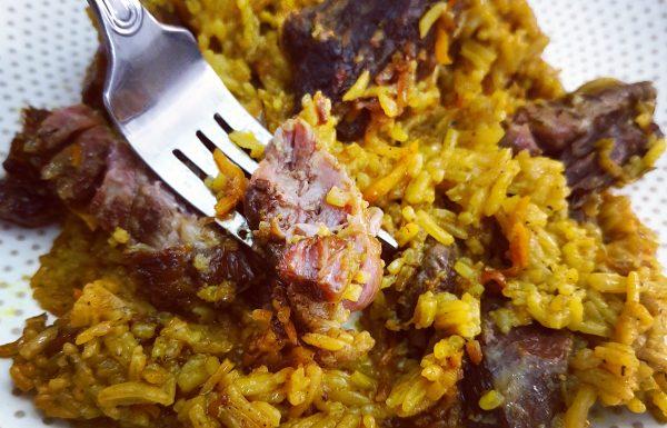 אורז בשר בדבש