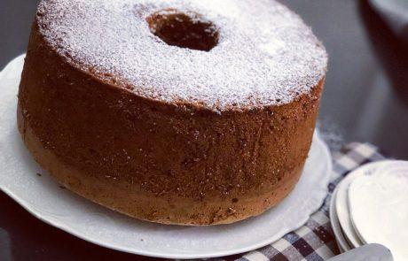 עוגת אגוזים שוקולד וקוקוס של אמא