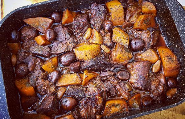 אסאדו בצלים וערמונים בתנור בקלי קלות 2