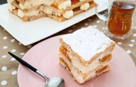 קרמשניט גבינה ומשמש