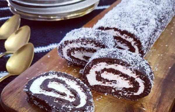רולדת כדורי שוקולד